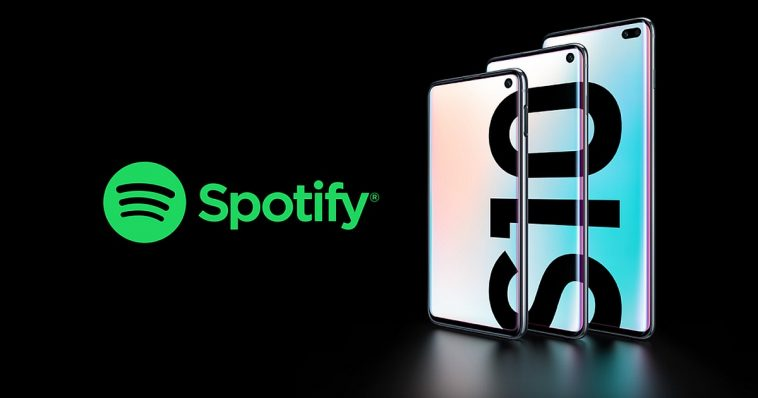 Spotify Premium Free on Samsung Galaxy S10 Smartphone 1
